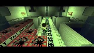Minecraft Movie- Steve Vs Herobrine