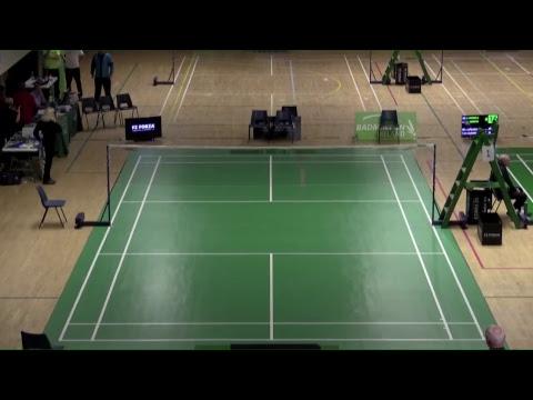 FZ Irish U19 Irish Open 2017 - Day 2 - Court 3 and Court 1
