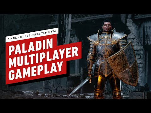 10 минут геймплея Diablo 2: Resurrected за Паладина