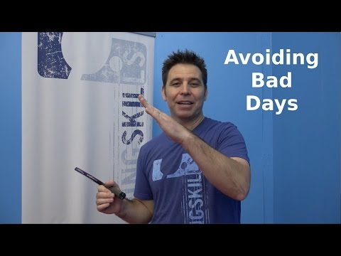 Avoiding Bad Days | Table Tennis | PingSkills