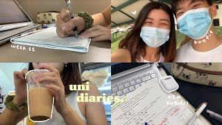 vlog / before finals month starts⚡ / my university life in Singapore