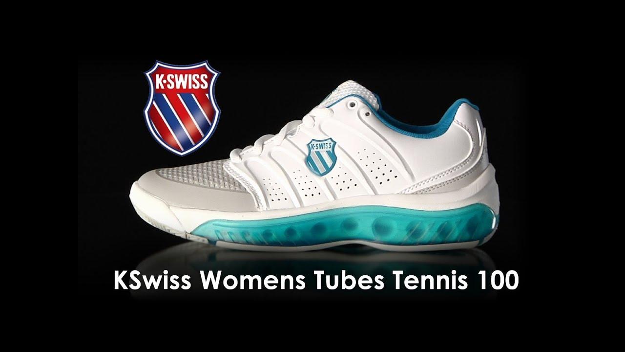 KSwiss Womens Tubes Tennis 100 Shoe