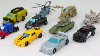 Transformers Movie 1 Legend Class Mini Size Autobots & Decepticon 10 Vehicle Car Robots Toys