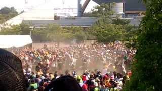 サマソニ大阪2013 / BABYMETALにおけるサークルモッシュ