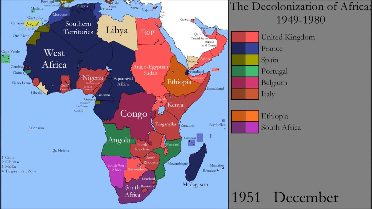 Dekolonisation Afrika