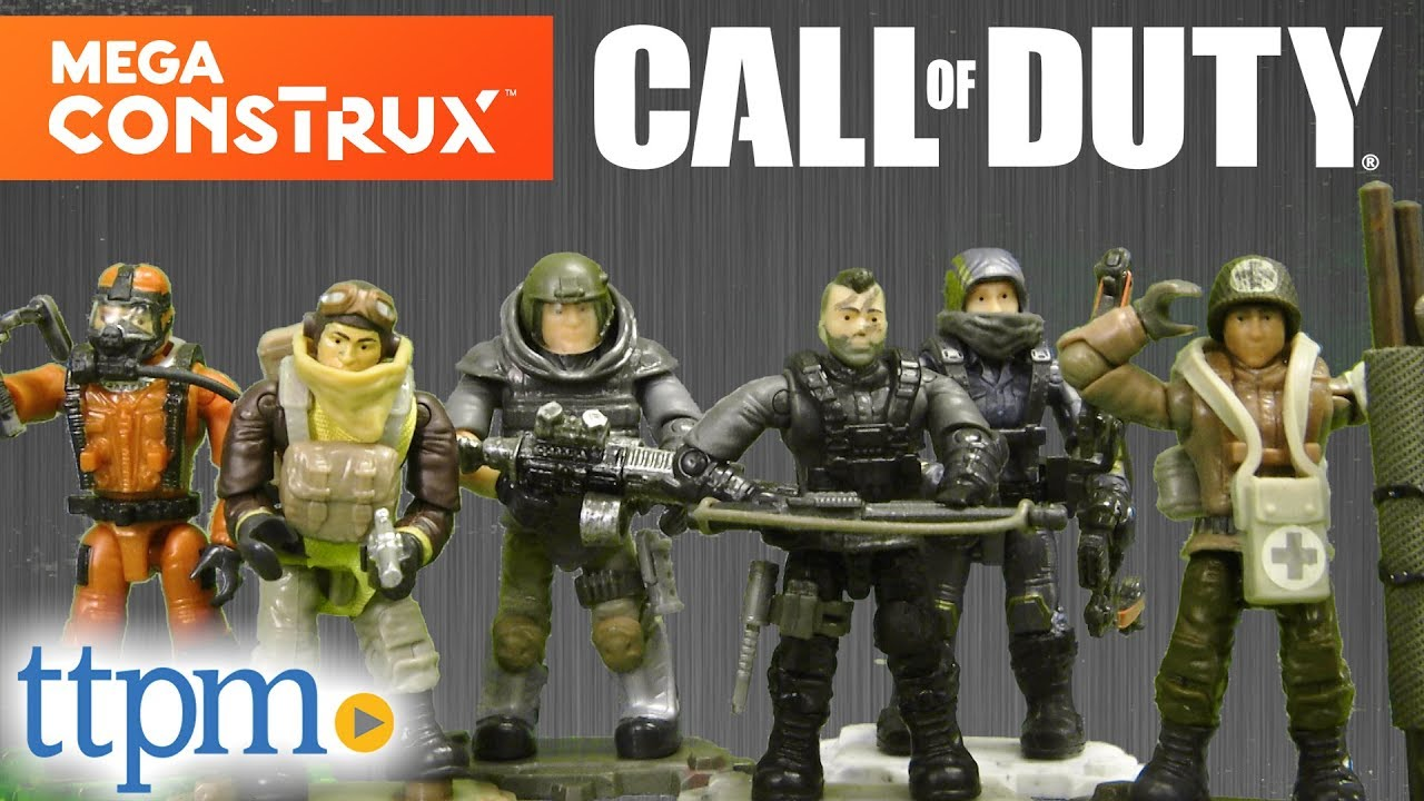 Mega Construx Call Of Duty Micro Action Figures From Mega Youtube