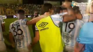 Penales y festejos de Atl. Tucumán - Rosario Central