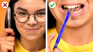 SCHOOL = FUN! 9 DIY School Supplies & School Hacks
