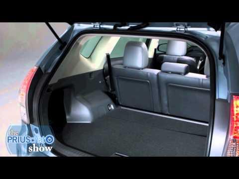 2012 Toyota Prius v Video Review - Interior Cargo Space