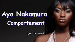 Aya Nakamura - Comportement (Paroles-Lyrics)