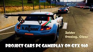 Project CARS Gameplay - PC - Ultra/Max settings 60 FPS [1080p] - GTX960 - Evening Clear