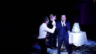 Розыгрыш на свадьбе со свадебным тортом!