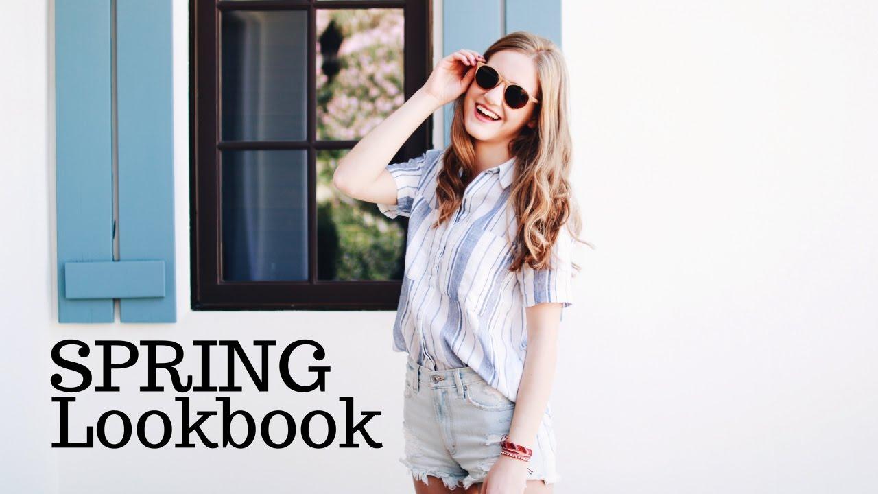 36b671b970bf Trendy Spring   Summer Lookbook 2017! - YouTube