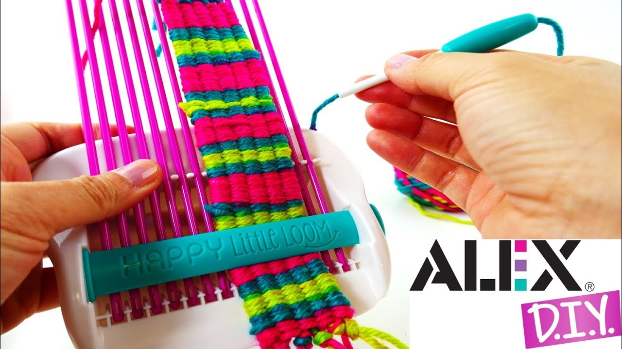 ALEX Toys DIY Happy Little Loom Unboxing and Review - YouTube