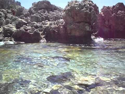 Piscina di Venere Capo Milazzo 3  YouTube