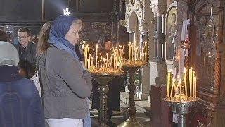 Rus ve Ukraynalı Ortodokslar Paskalya'yı kutluyor