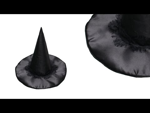 How to make a witch hat - DIY sewing project - #47