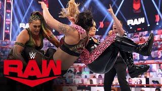 Natalya & Tamina vs. Jax & Baszler – WWE Women's Tag Team Championship Match: Raw, May 17, 2021