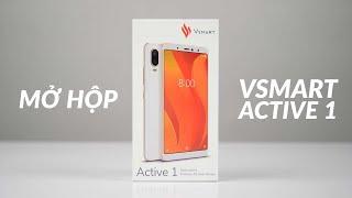 Mở hộp Vsmart Active 1 bản thương mại