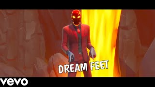 FORTNITE *NEW* *LEAKED* DREAM FEET (TRAP REMIX)