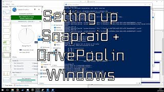 How to setup Snapraid and DrivePool in Windows