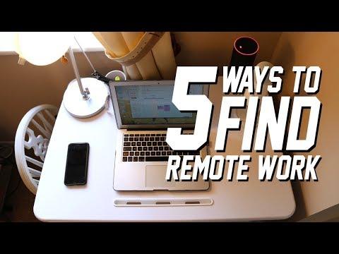 5 Ways To Find Remote Work | Remote Work Series #03