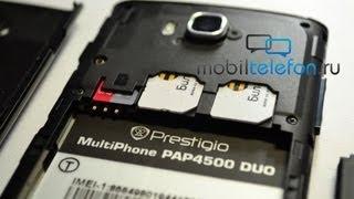Обзор Prestigio MultiPhone 4500 Duo (review)