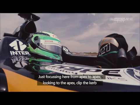 Eye Tracking with Nico Hülkenberg  -  Sky Sports F1