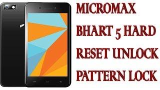 Micromax b5 pattern unlock