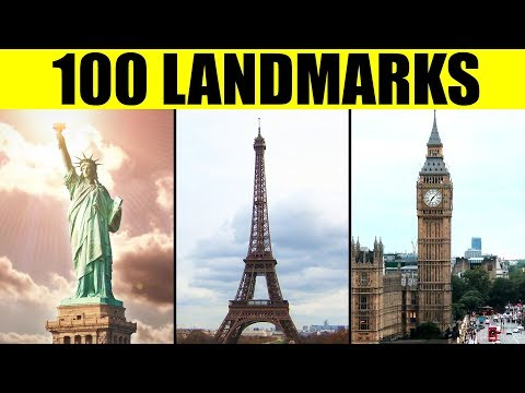 LANDMARKS OF THE WORLD - 100 Famous Landmarks For Kids