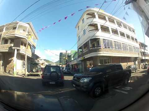Dominica Drive Roseau Arrival