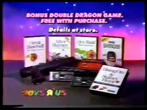 Toys R Us Sega Master System Commercial