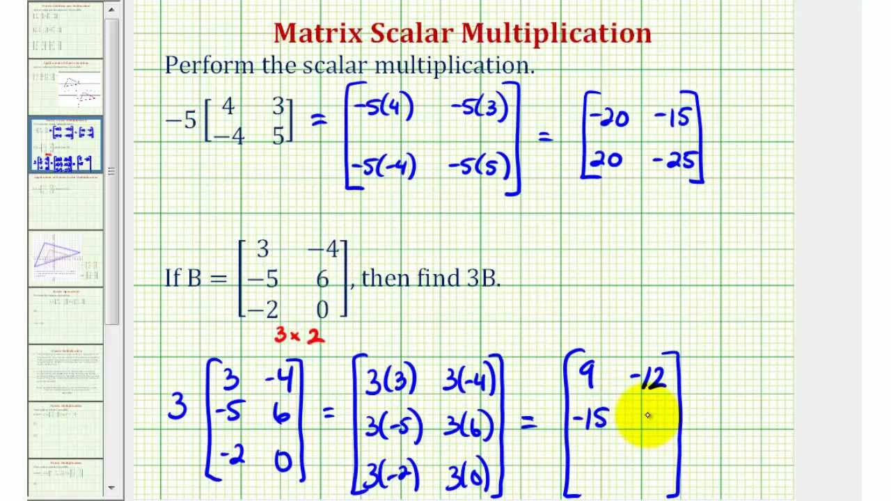 how to solve matrices with complex numbers