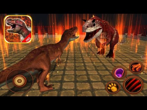 T REX GAMES FOR KIDS: Tyrannosaurus Simulator ► Newbie Gaming