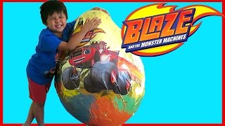 Blaze and the Monster Machines Toy Surprise Blind Boxes! Nickelodeon & Nick Jr  Starla, Crusher, Pic