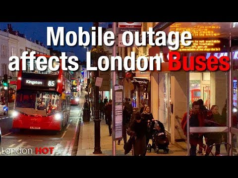 How a mobile network problem caused the London bus network difficulties