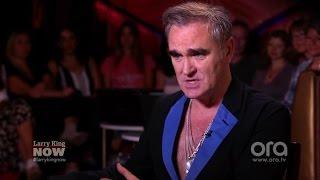 "EXCLUSIVE: Morrissey Slams The ""Brutal"" Music Business, TV Talent Shows (VIDEO)"