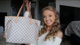 What's In My LV Neverfull Bag? What's in my purse 2019
