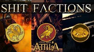Total War Attila39;s Three Weakest Factions
