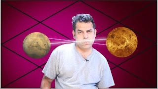 Mars and Venus mutual aspect in Astrology