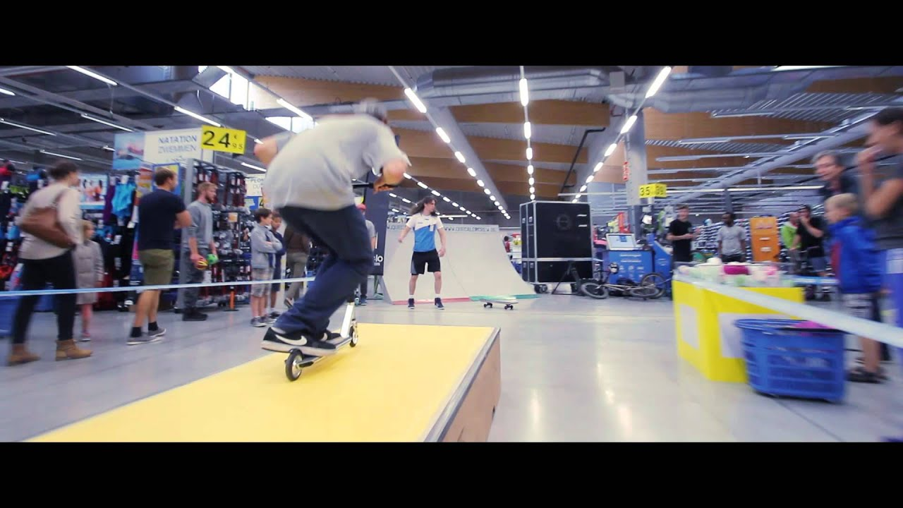 a99d2a098 Oxelo Freestyle Tour 2015 - Decathlon - YouTube