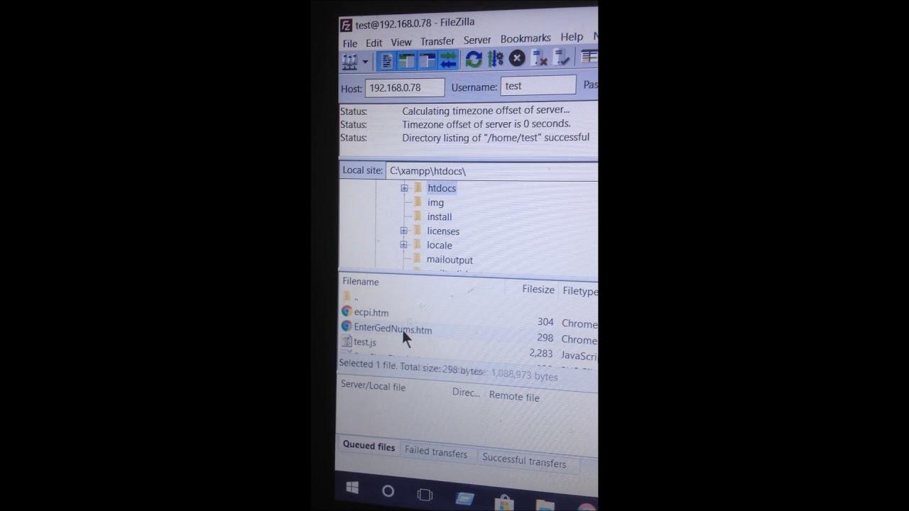 Ubuntu 16 04 ftp upload problem after installing vsftpd : Solved!
