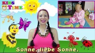 Sonne, liebe Sonne | Kinderlieder zum Mitmachen | Pesničky pre deti v nemčine