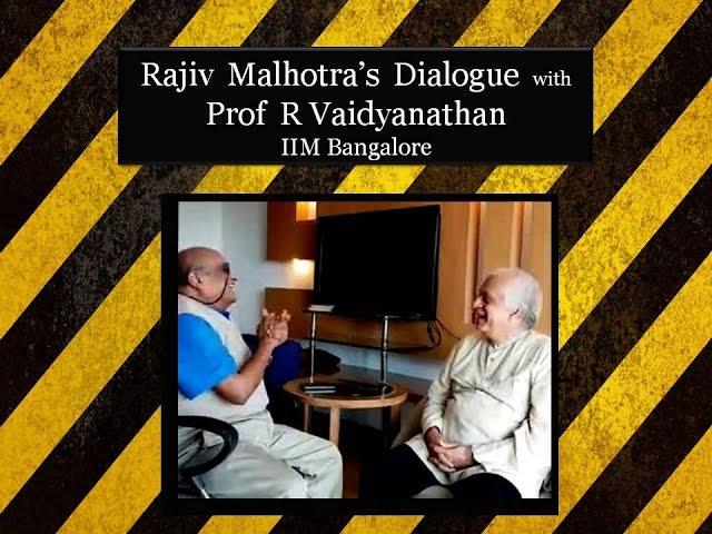 2016-12-18 – Prof  R Vaidyanathan | Talks by Shri  Rajiv