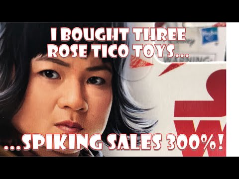 SJW STAR WARS ROSE TICO TOYS SALES SPIKE: 300%!!