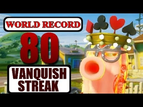 80 Vanquish Streak World Record Plants vs. Zombies: Garden Warfare