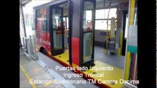 Video Bus Padron Dual SITP Pretroncal Ruta M80 L80 Consorcio Express
