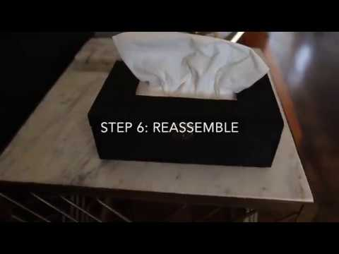 DIY Tissue Box Cover for Only $7! - *Affordable & Cute*