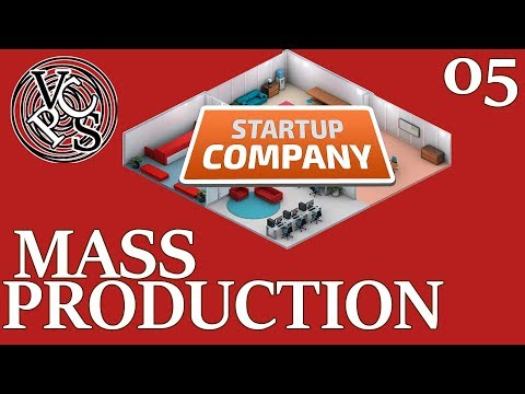 Mass Production : Startup Company EP05 - Alpha 11 Software Developer Business Tycoon Gameplay