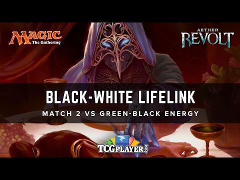 [MTG] Black-White Lifelink | Match 2 VS Green-Black Energy